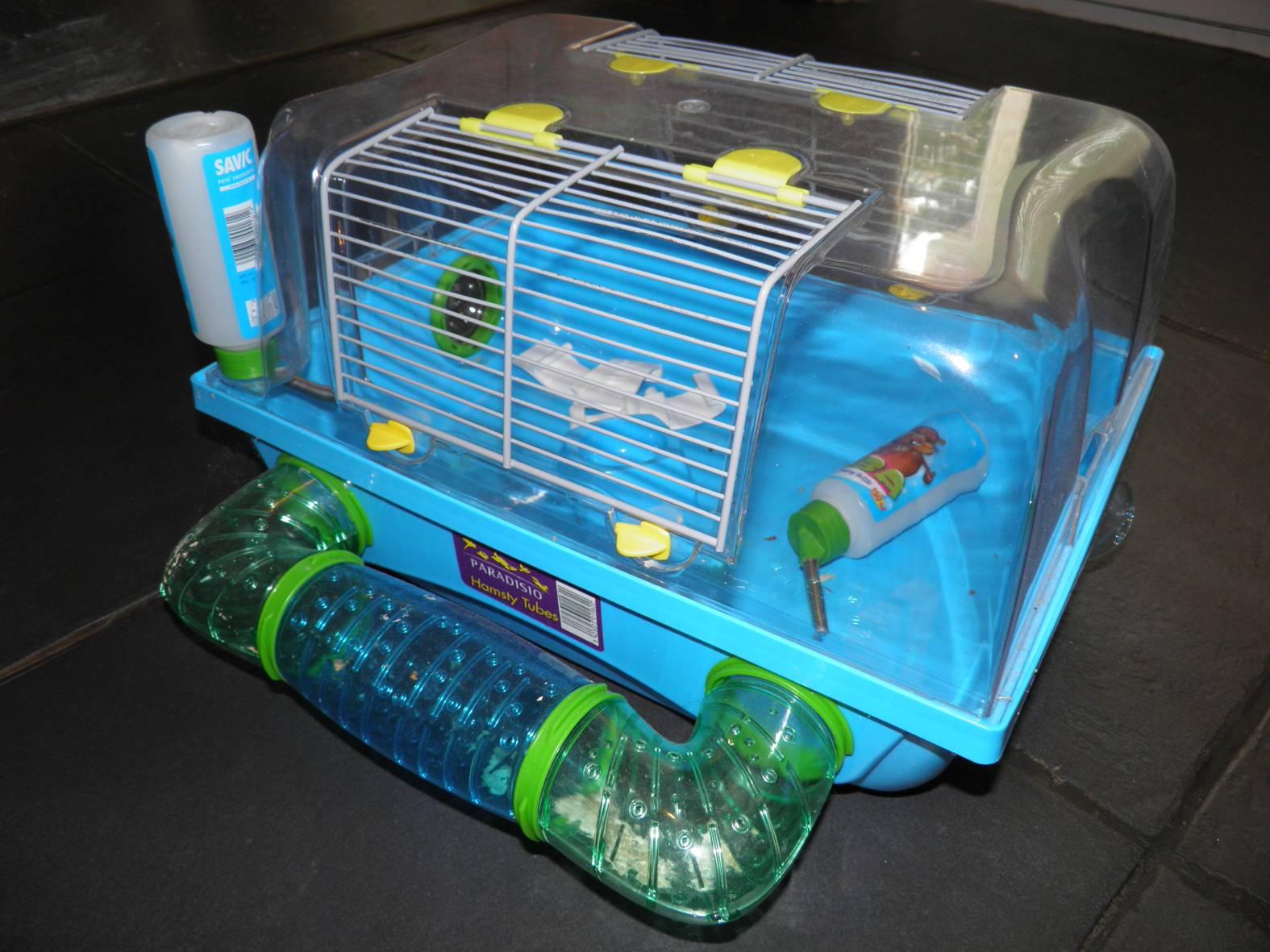 cage hamster prix